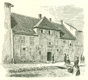 huse i 1520´erne middelalderen
